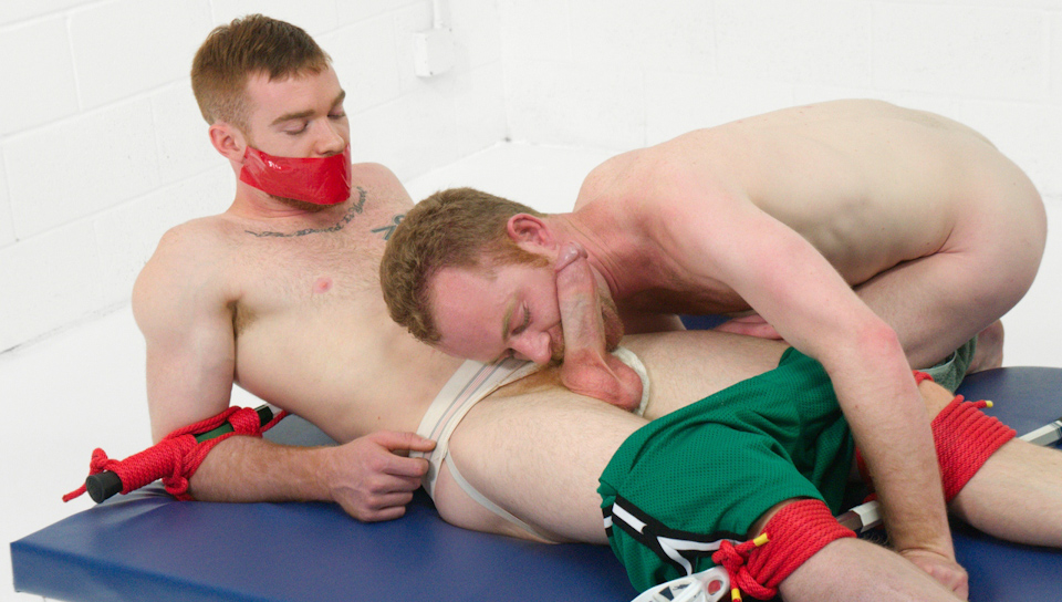 Gay bondage duct tape