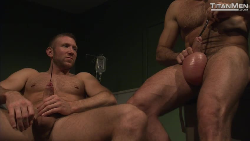 Marco Having Fun With His Nice Gay Cock