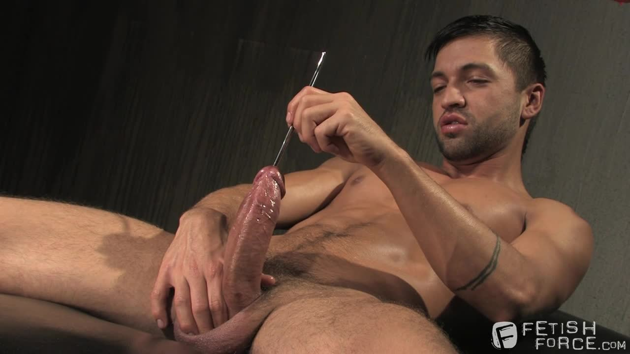 Fetish big cock jerking off