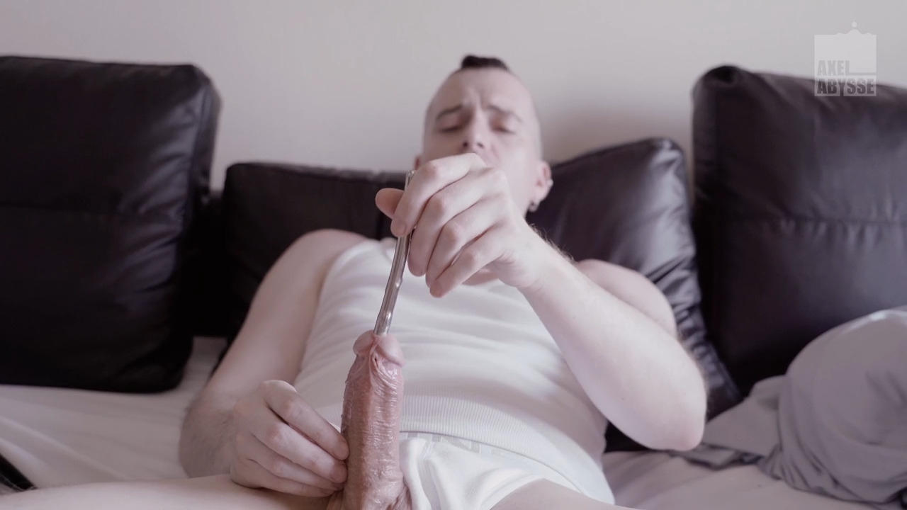 Axel Abysse In The Dirtiest Penis Sounding & Fisting Adventure
